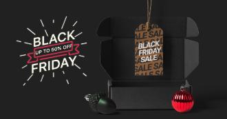 Black Friday Ad Mockup Scene