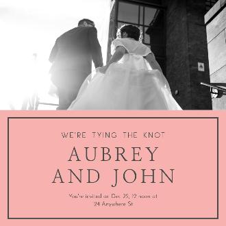 Instagram Wedding Post Template