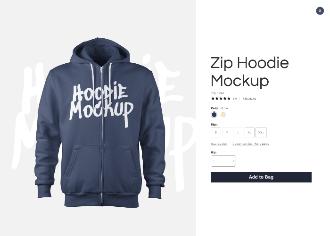 Hoodie Mockup Scene