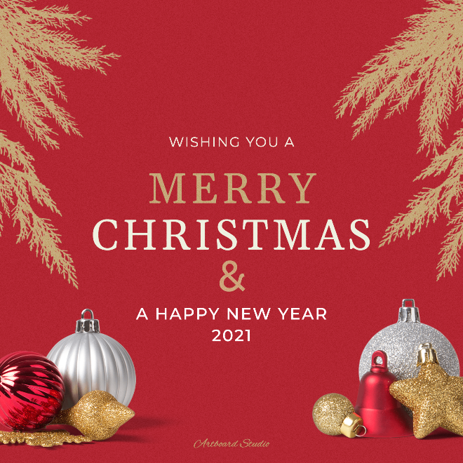 Christmast Post Template