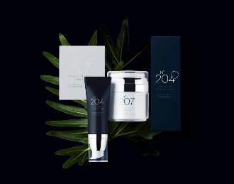 Cosmetic Package Mockup Scene
