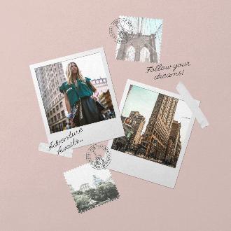 Polaroid Collage Instagram Post