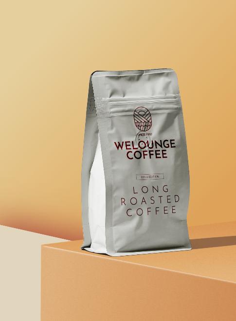 Coffee Package Mockup Scene