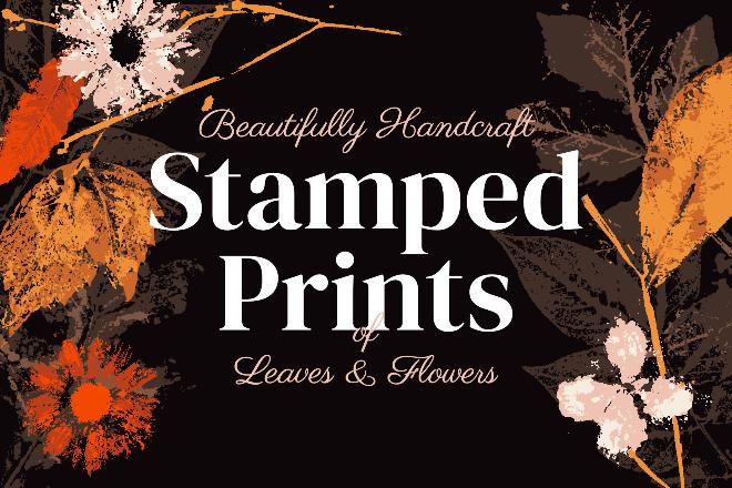 Stamped Prints Design Template
