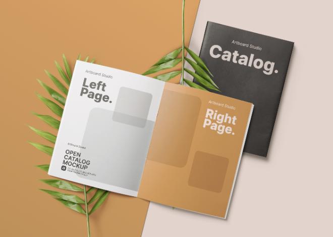 Open Catalog Mockup Template