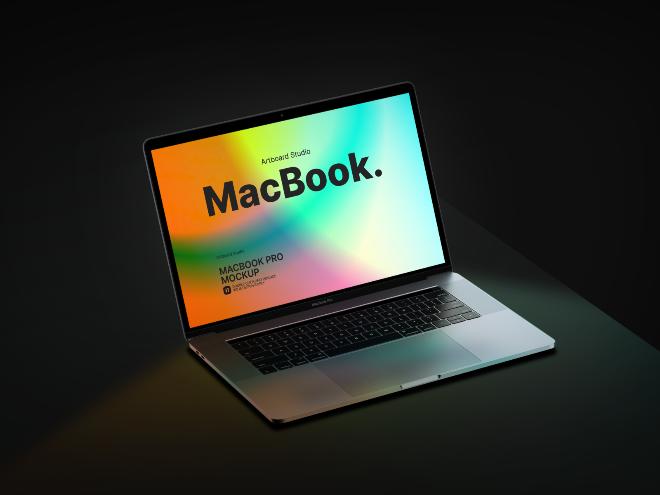MacBook Pro Mockup Template