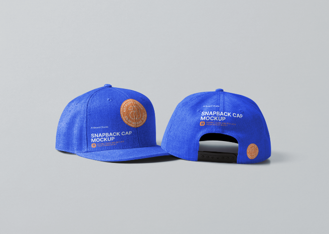 Snapback Cap Mockup Template