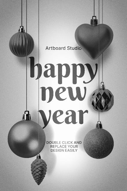 New Year Social Media Post Template