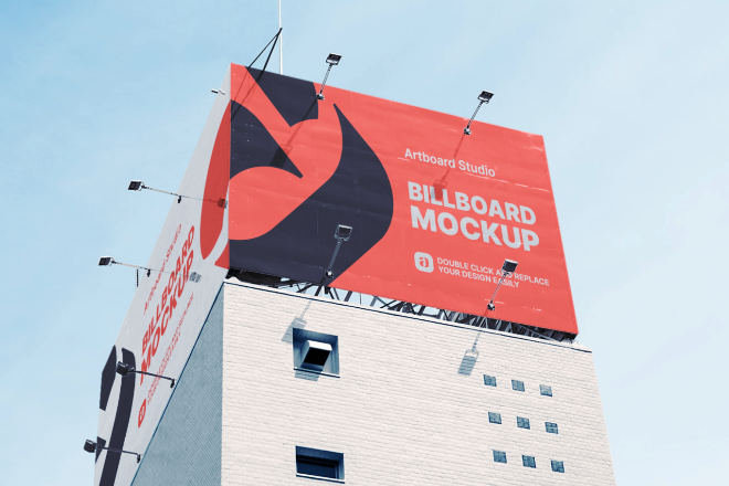 Billboard Mockup Template