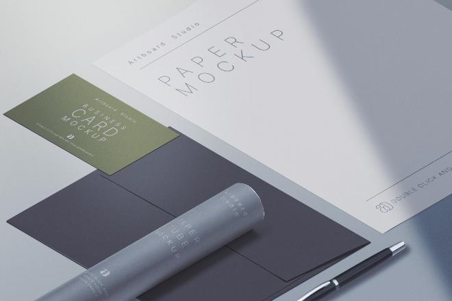 Branding Identity Mockup Template