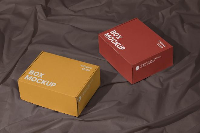 Box Mockup Template